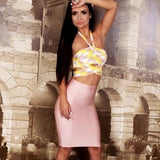 "2 PIECE MIDI BANDAGE DRESS - ""THE BFF"", 2 Piece  - Barbee Doll Boutique"