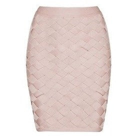 "MINI BANDAGE SKIRT - ""GLAMMED"", Skirts  - Barbee Doll Boutique"