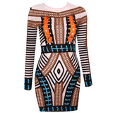 "MINI BANDAGE DRESS - ""NAVEEN"", Dress  - Barbee Doll Boutique"