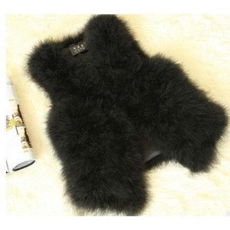 "FUR VEST -""THE LUX LIFE"", Vest  - Barbee Doll Boutique"