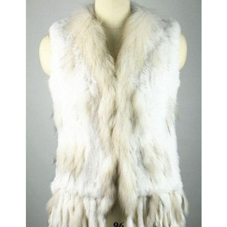 "FUR VEST - ""BUNNY LUX"", Vest  - Barbee Doll Boutique"