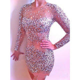 "RHINESTONE MINI EVENING DRESS - ""ROYAL PRINCESS"", Dress  - Barbee Doll Boutique"
