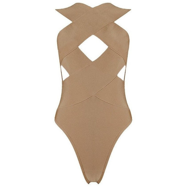 "BANDAGE BODYSUIT - ""REBEL"", Bodysuit  - Barbee Doll Boutique"
