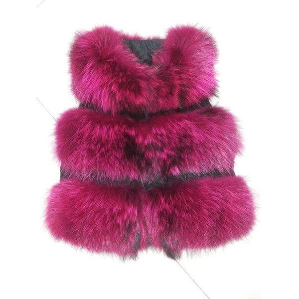 "FUR VEST - ""LUXURY BABE"", Fur Vest  - Barbee Doll Boutique"
