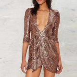 "SEQUIN MINI DRESS - ""BROADWAY SPARKLE"", Dress  - Barbee Doll Boutique"