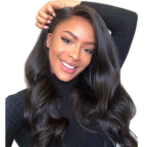 4x4 lace frontal bodywave wig with 150% density
