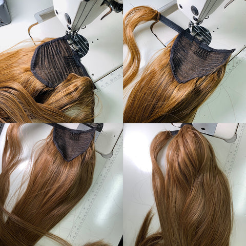 customzied ponytails