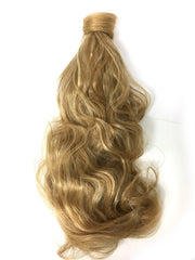Wrap around 100% human hair bodywave ponytail 18""