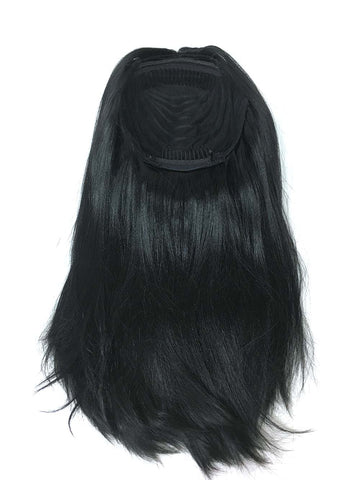 "Half Wig 100% Human Hair in Yaki Straight 18"" - Hairesthetic"