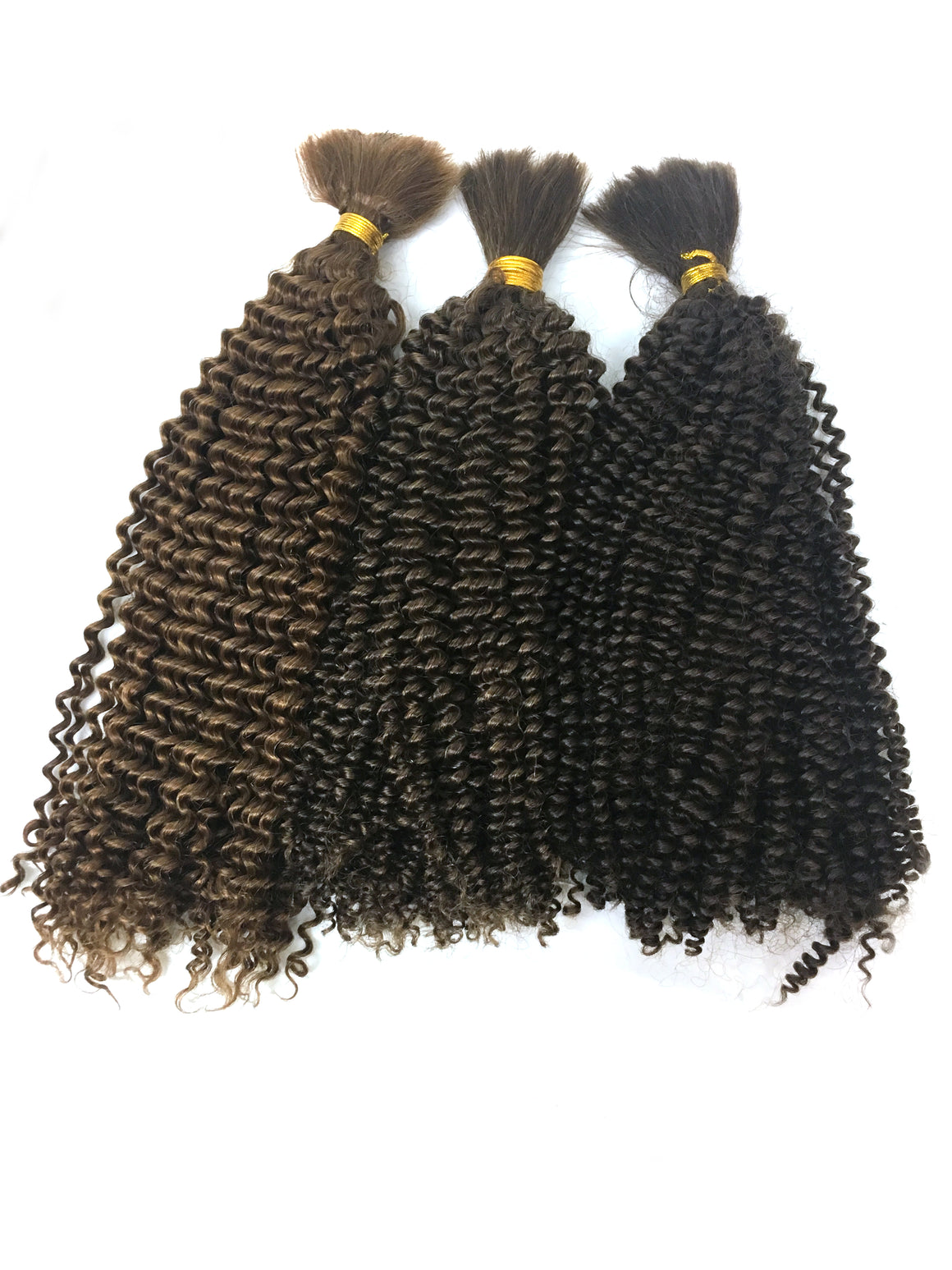 "Bulk Remy Kinky Curly  20"" - Hairesthetic"