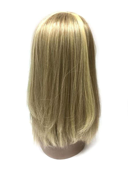 "Hair Topper with Straight - 100% Human Hair 12"" - Hairesthetic"
