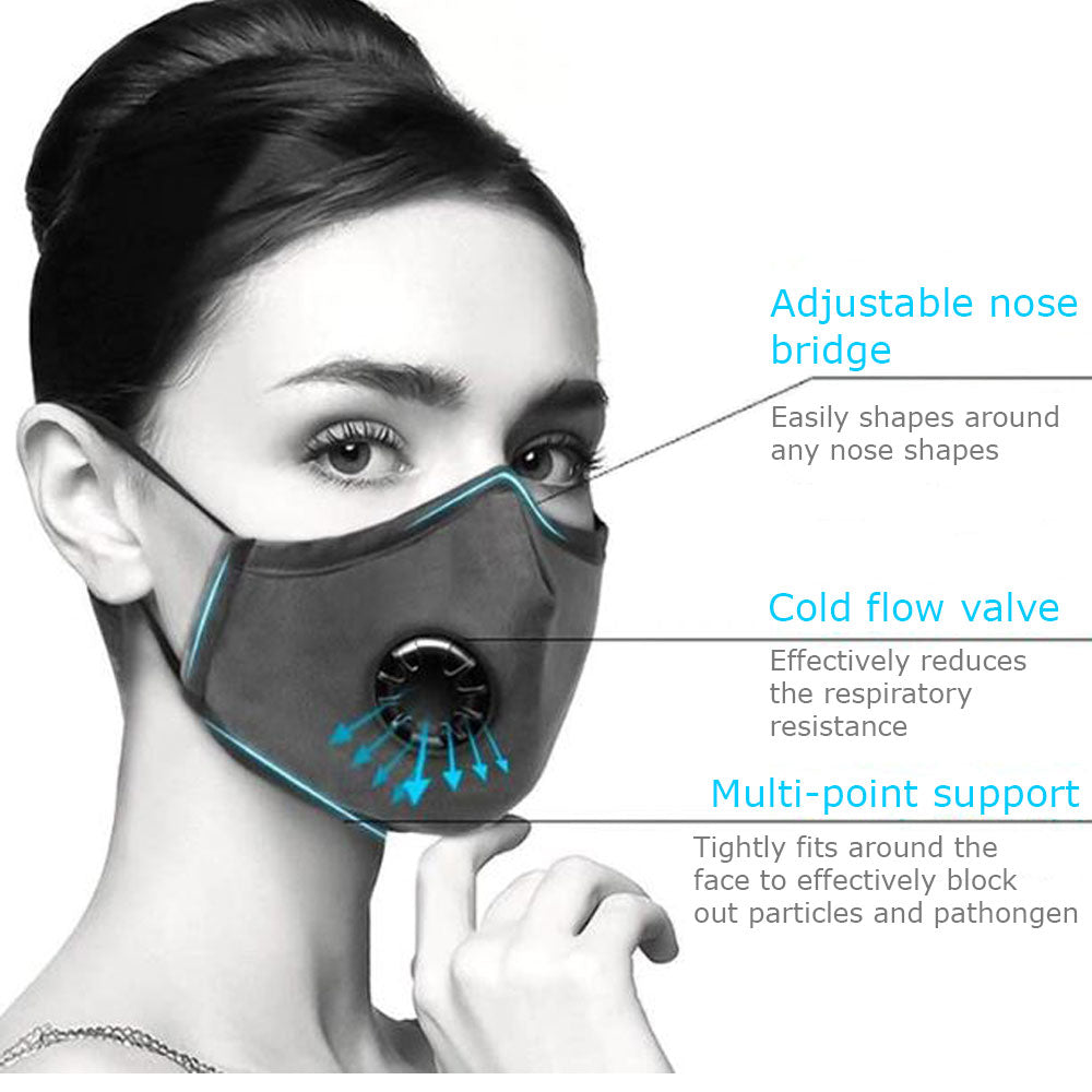 Reusable Cotton Respirator Mask for Personal Protection - Hairesthetic