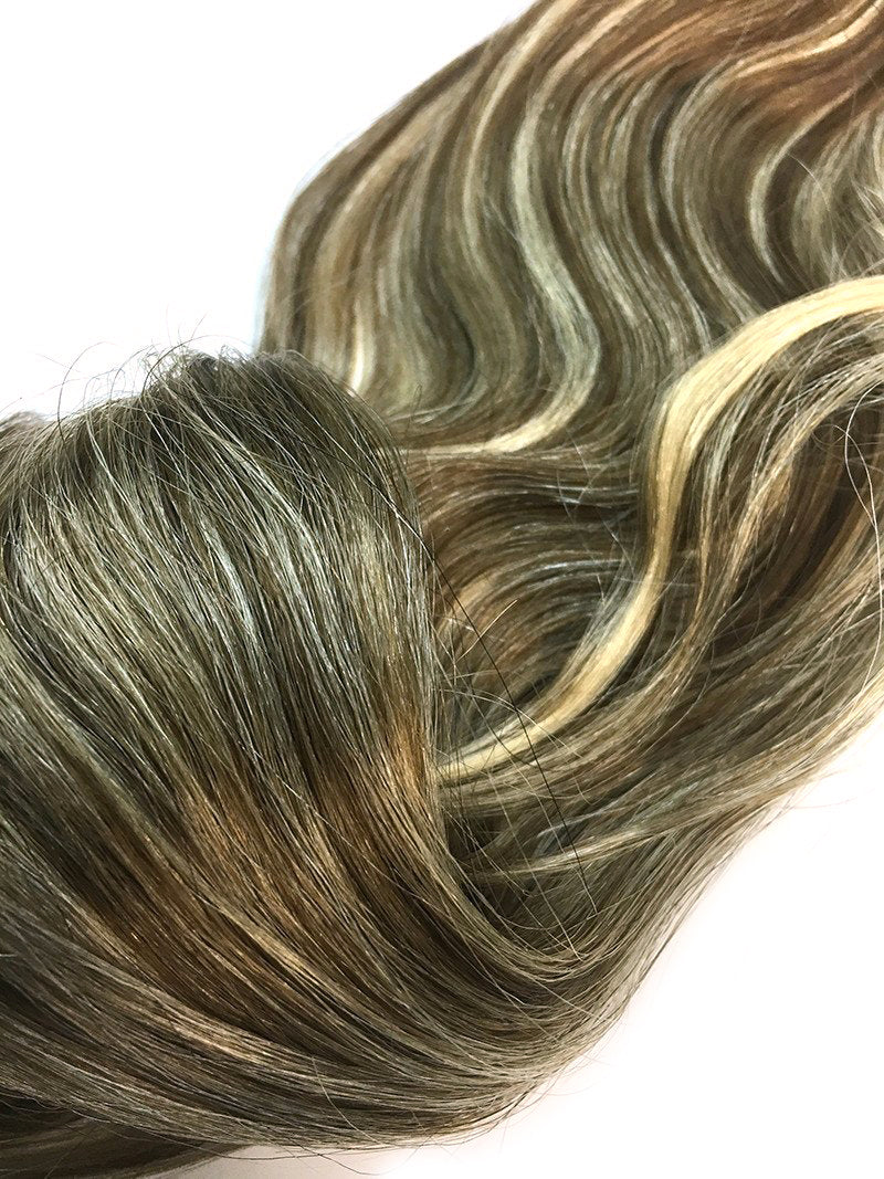 "Wefted Remy Bodywave 18"" - Hairesthetic"