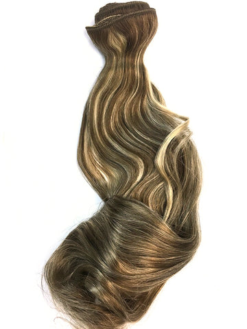 "Wefted Remy Bodywave 12"" - Hairesthetic"