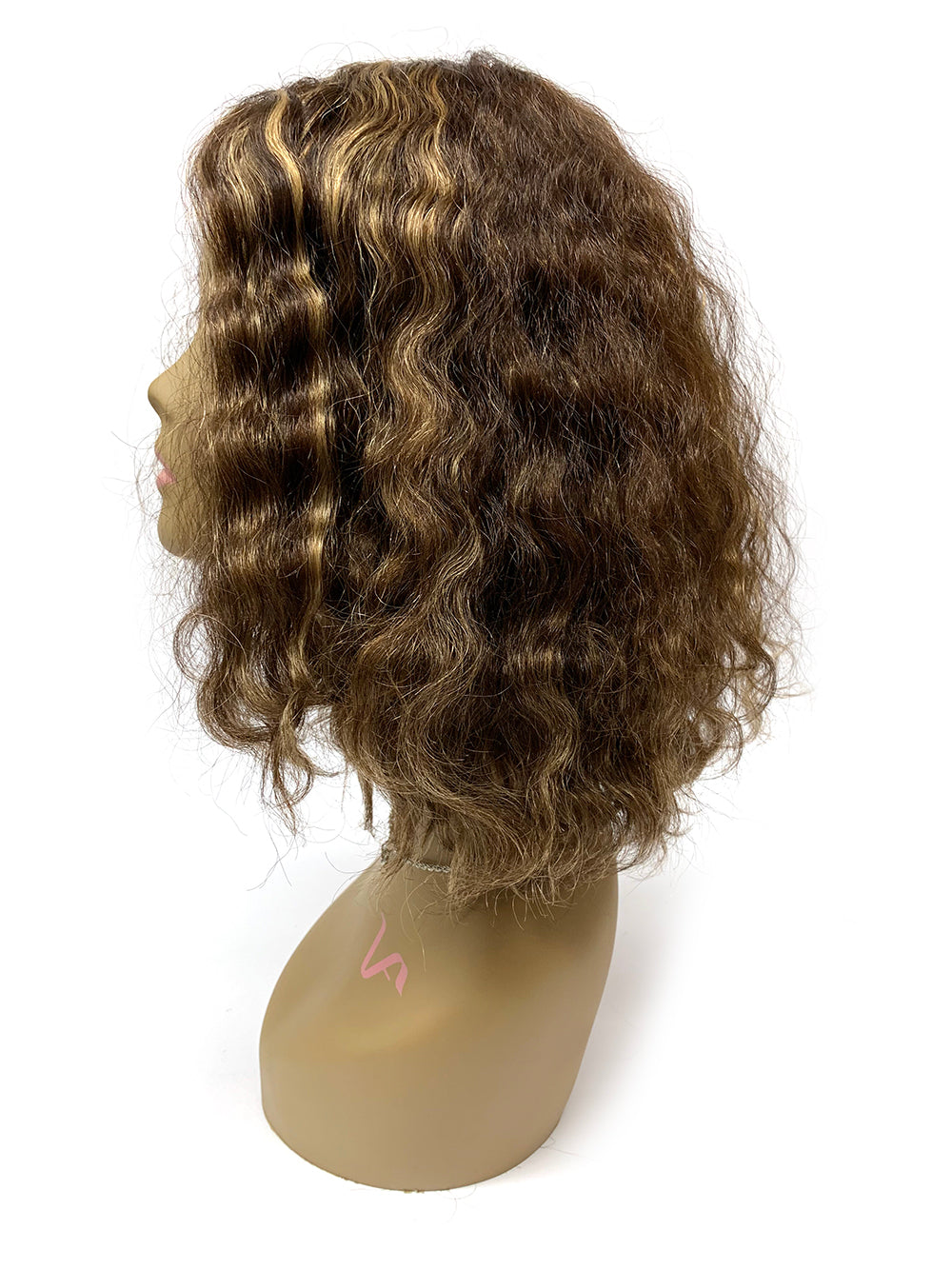 Hair Topper with Brazilian Curl - 100% Human Hair (CUSTOMIZED) #3/27 - Hairesthetic