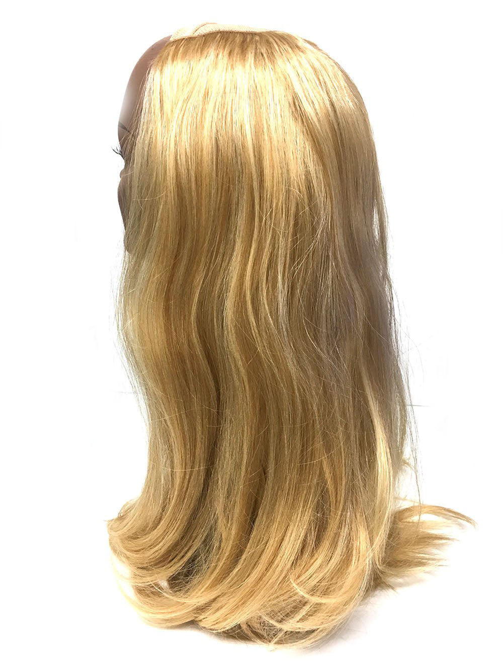 "Customized Hand Finished Half Wig Bodywave 18"" color #22/27 - Hairesthetic"