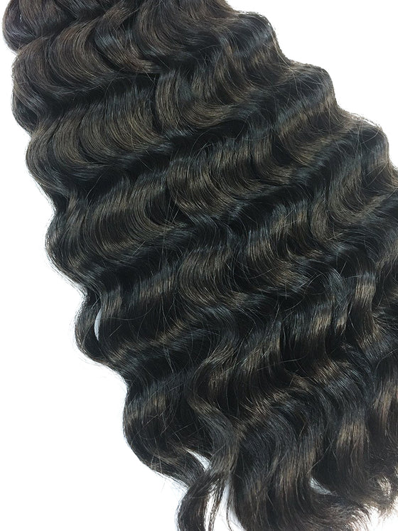 "Bulk Indian Remy Deep Wave 16"" - Hairesthetic"