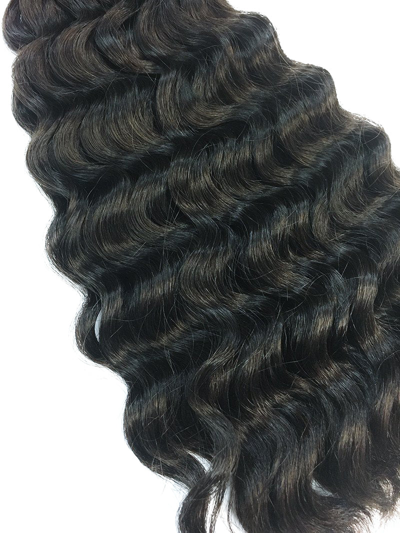 "Bulk Indian Remy Deep Wave 24"" - Hairesthetic"