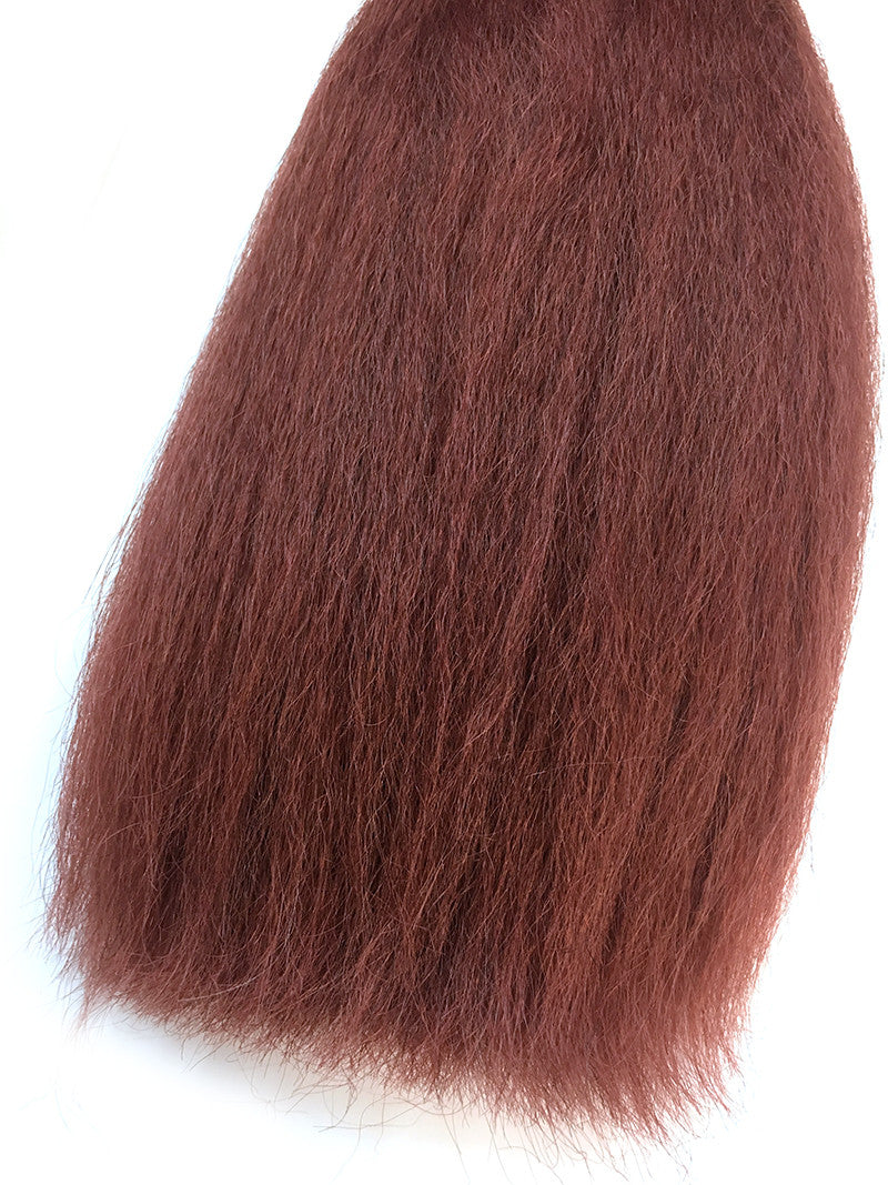 "Bulk Remy Kinky Straight 16"" - Hairesthetic"