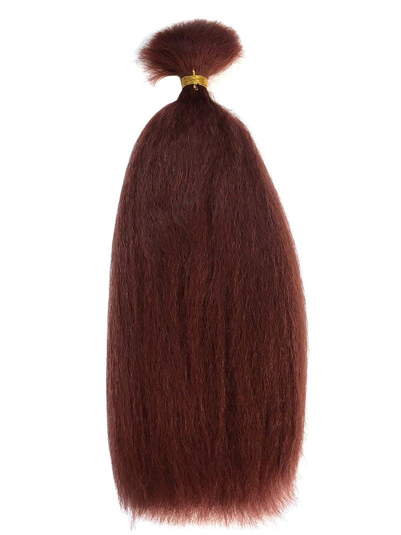 "Bulk Remy Kinky Straight 24"" - Hairesthetic"