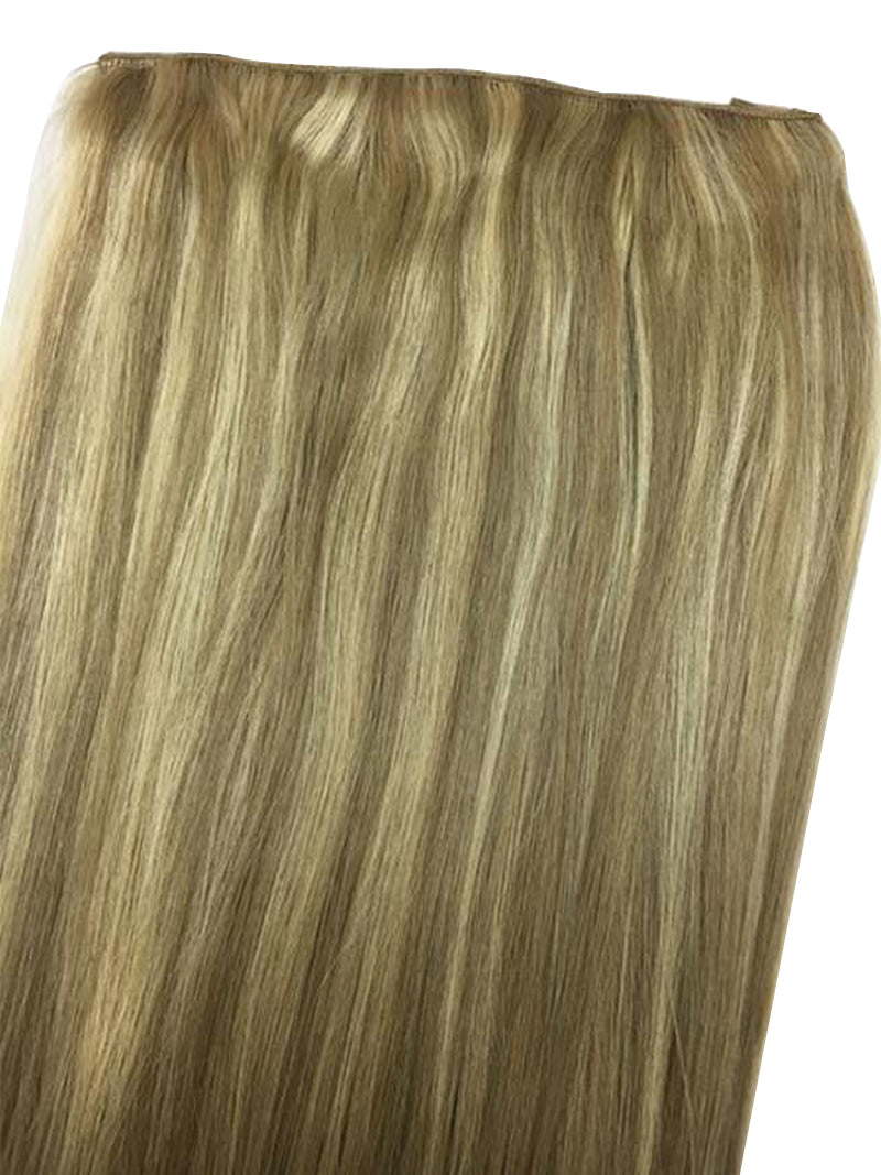 "Full Head Single Clip In Extensions in Straight 12"" - Hairesthetic"