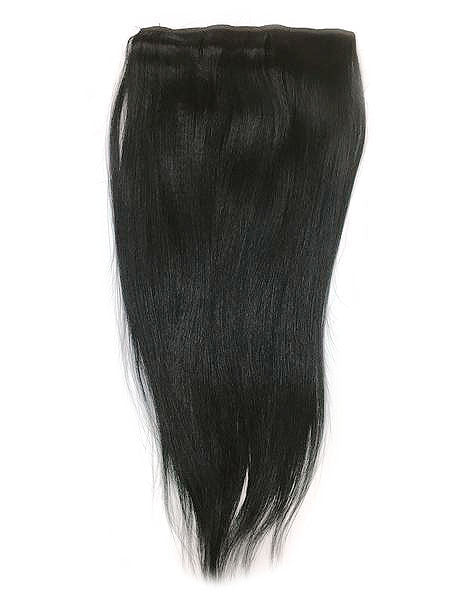 "Full Head Single Clip In Extensions in Yaki Straight 18"" - Hairesthetic"