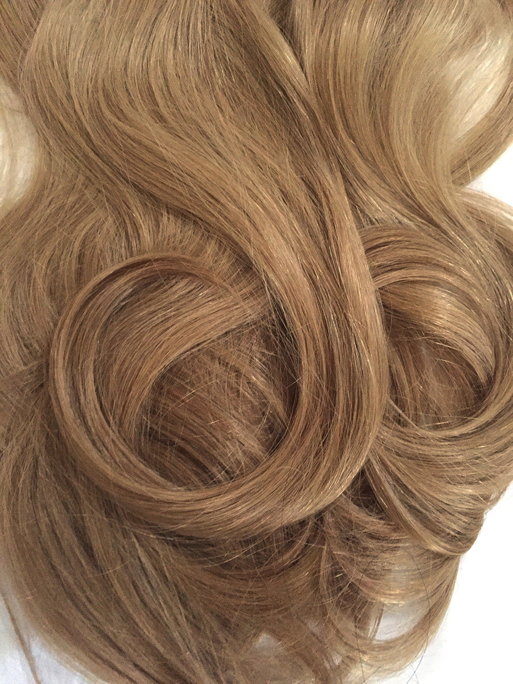 Indian Remy Bodywave Clip On Hair Color 12 Blonde Brown