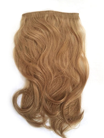 Indian Remy Bodywave Clip on Hair, Color 12 - Blonde Brown - Hairesthetic