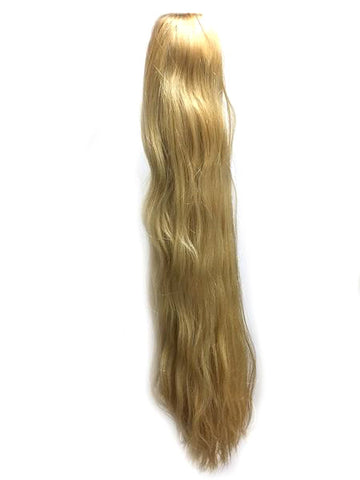 "Draw String Ponytail in Indian Remy Straight , 100% human hair 28"" - Hairesthetic"
