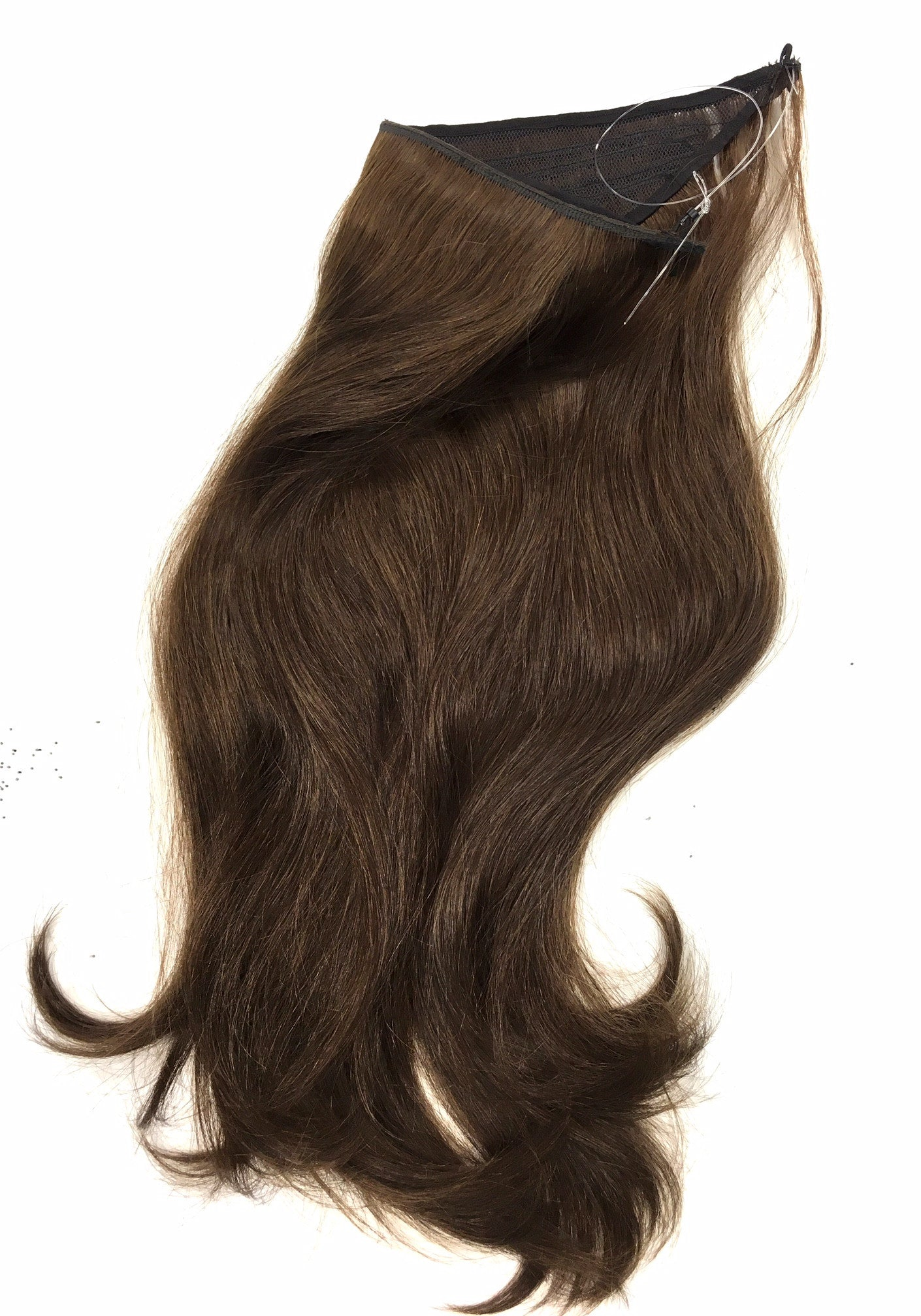 Easy Hair Extensions Wired Hair Extensions Dark Colors