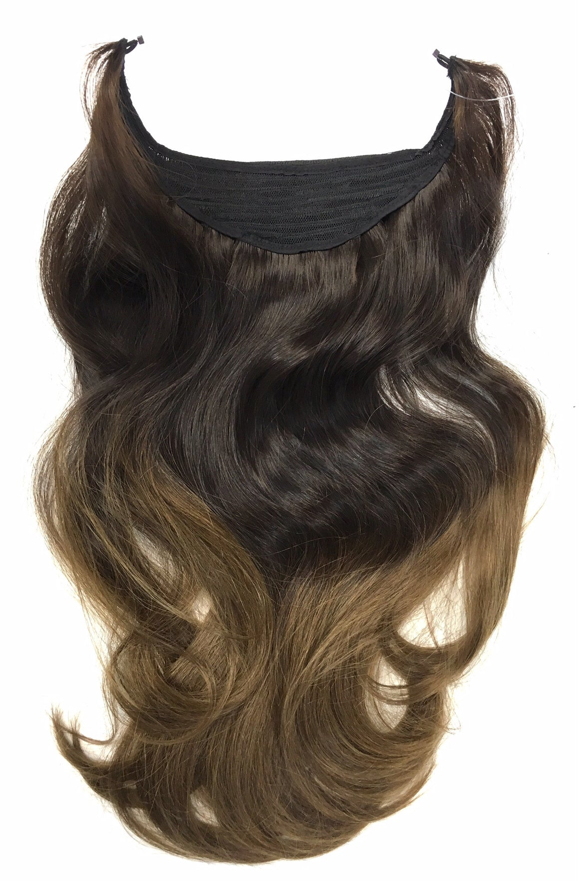 "Easy Hair Extensions - Wired Hair Extensions- Ombre Colors 20"" - Hairesthetic"