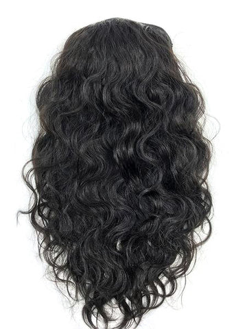 "Half Wig 100% Human Hair in Deep Bodywave 18"" - Hairesthetic"