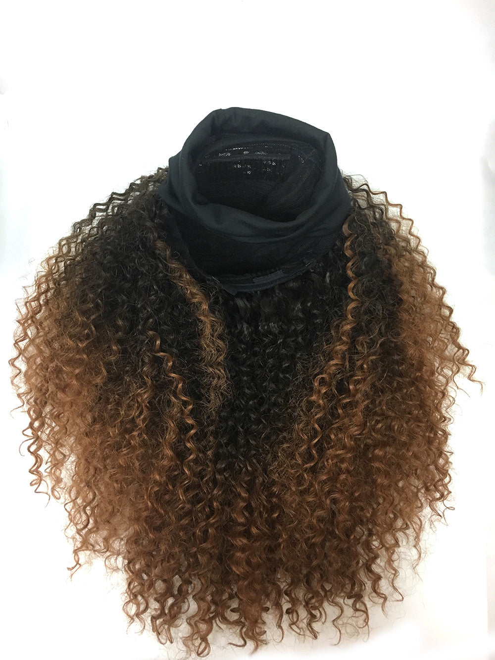 Head Band Half Wig - 100% Human Hair Tight Kinky Wave - Hairesthetic
