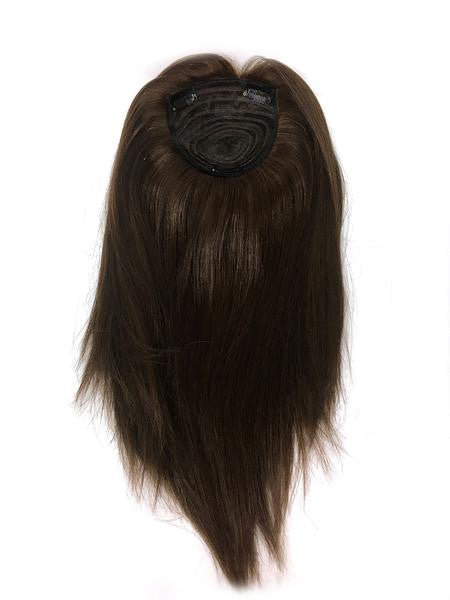 "Hair Topper with Yaki Straight - 100% Human Hair 14"" - Hairesthetic"