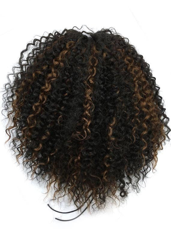 Draw String Ponytail In Kinky Curly 100 Human Hair 14 Quot