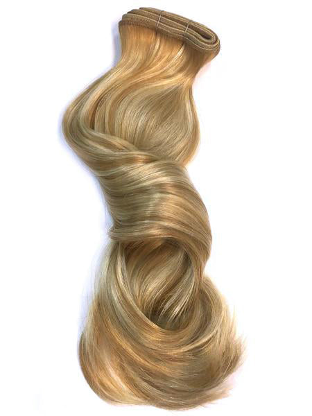Indian Remy Bodywave Human Hair Extensions - Wefted Hair 12""