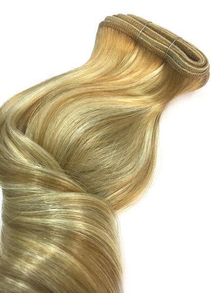 "Indian Remy Bodywave Human Hair Extensions - Wefted Hair 18"" - Hairesthetic"