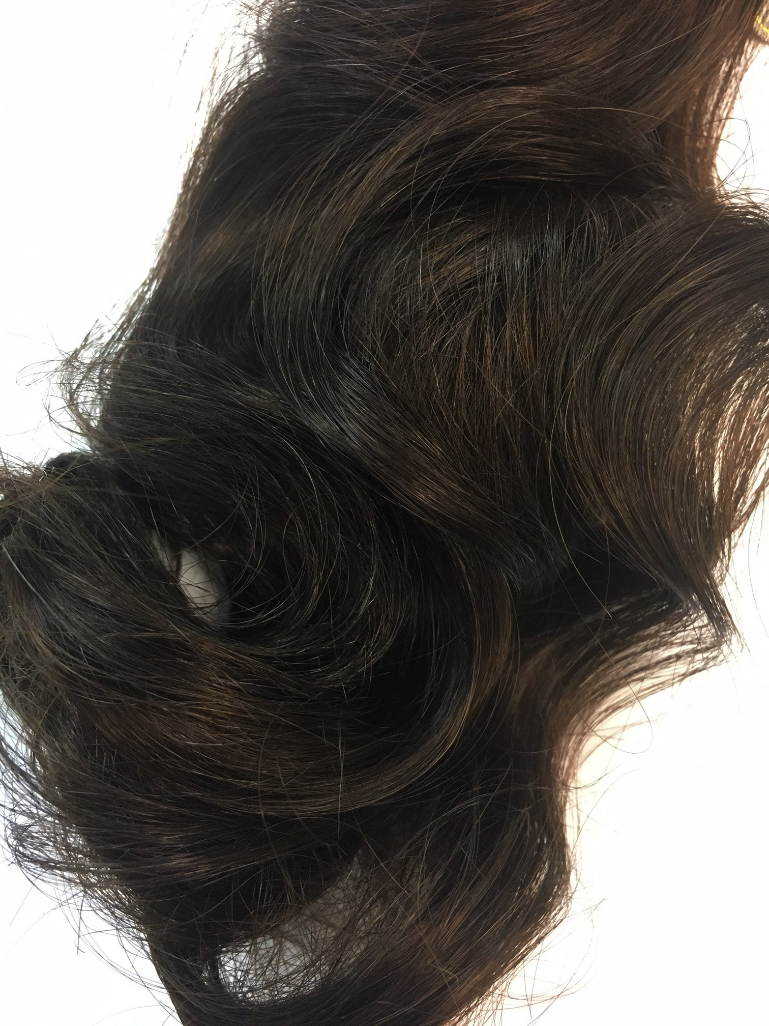 Indian Remy Bodywave Human Hair Extensions Wefted Hair 22