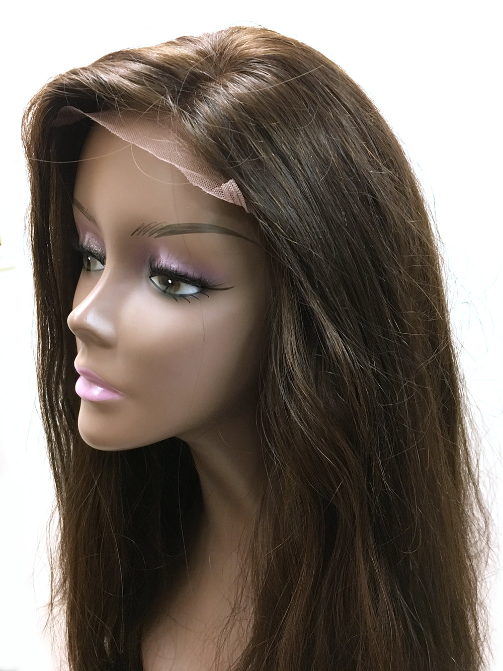 "Indian Remy Bodywave Lace Front Wig 22"" with 410 Gram Full Body and Length."