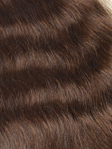 Indian Remy French Wave Human Hair Extensions - Wefted Hair 14""
