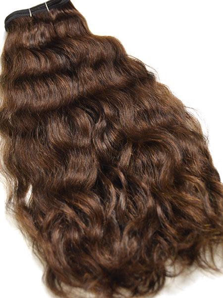 "Indian Remy French Wave Human Hair Extensions - Wefted Hair 14"" - Hairesthetic"