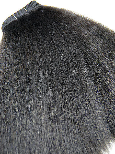 "Indian Remy Kinky Straight Human Hair Extensions - Wefted Hair 10"" - Hairesthetic"