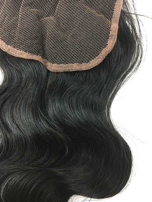 "Lace Front Closure 4x4"" with Bodywave Hair 16"" - Hairesthetic"