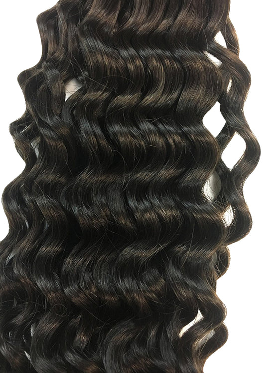 "Wefted Remy Deep Wave Human Hair 12"" - Hairesthetic"