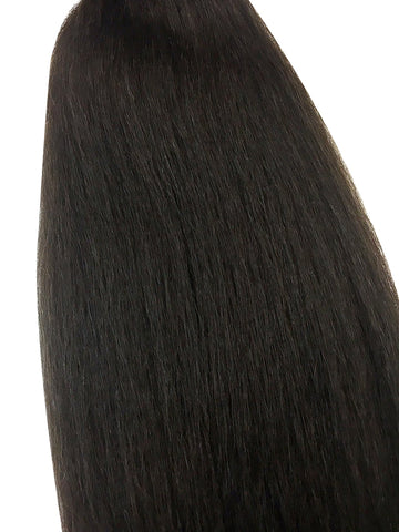 "Wefted Remy Kinky Straight 14"" - Hairesthetic"