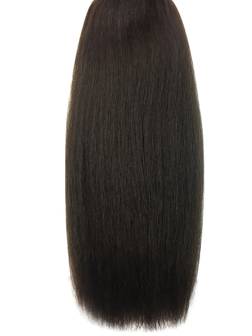 "Wefted Remy Kinky Straight 12"" - Hairesthetic"