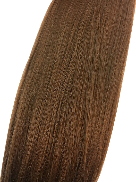 "Wefted Remy Silky Straight 18"" - Hairesthetic"
