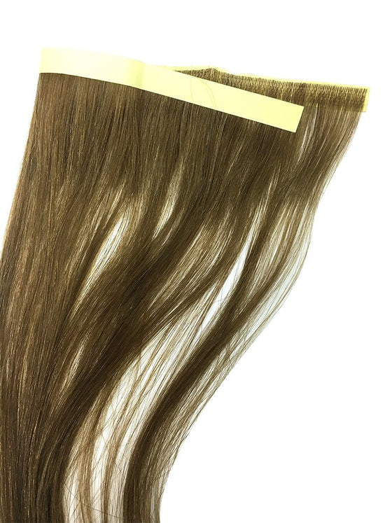 "6 Pcs Skin Weft Silky Straight Human Hair Extensions 14"" - Hairesthetic"