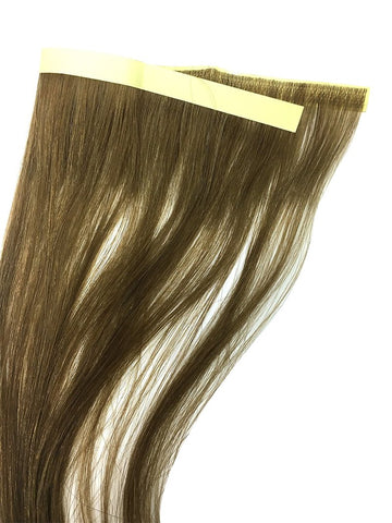 "6 Pcs Skin Weft Silky Straight Human Hair Extensions 18"" - Hairesthetic"