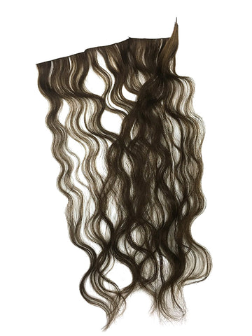 "1 Pc Skin Weft Wavy Human Hair Extensions 18"" - Hairesthetic"